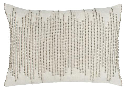 Sabel Nat/Champagne Pillow