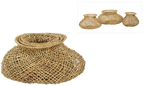 Woven Basket Set of 3