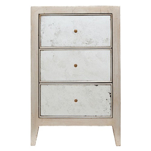Mia Nightstand in Silver Oak - Small