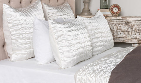 Aura Ivory King Quilt