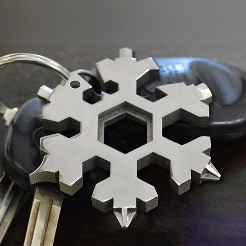 Amenitee 15-in-1 Schneeflocke Form Multitool