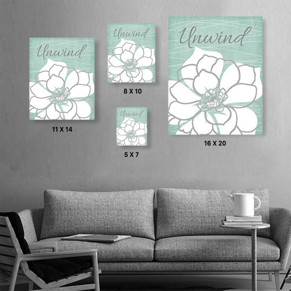 FLOWER Canvas Art Set I