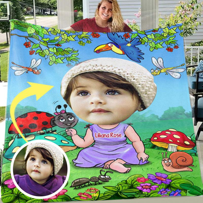 Custom BLANKET with Photo