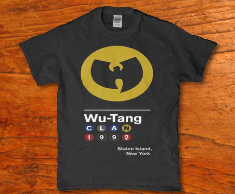 Wu tang clan 1992 staten Island New york Men's t-shirt