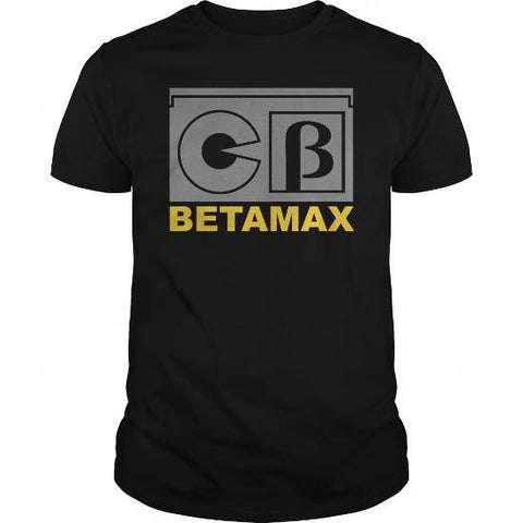 Betamax classic awesome mens t-shirt