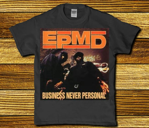 Epmd - Business never personal awesome Hip hop classic Men's t-shirt