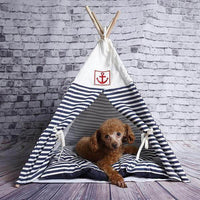 Cozy Foldable Pet Bed/Tent for Puppy Dogs & Cats