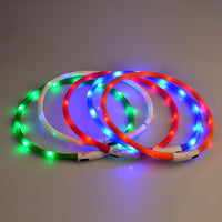 USB Charging LED Glow Dog Collar