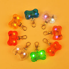 LED Flasher Safety Pendant Collar for Pets