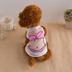 Sexy Clothes for Small Puppy, Dogs T-shirts