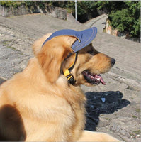Pet Dog Outside Sun Travel Sunshade Baseball Cap