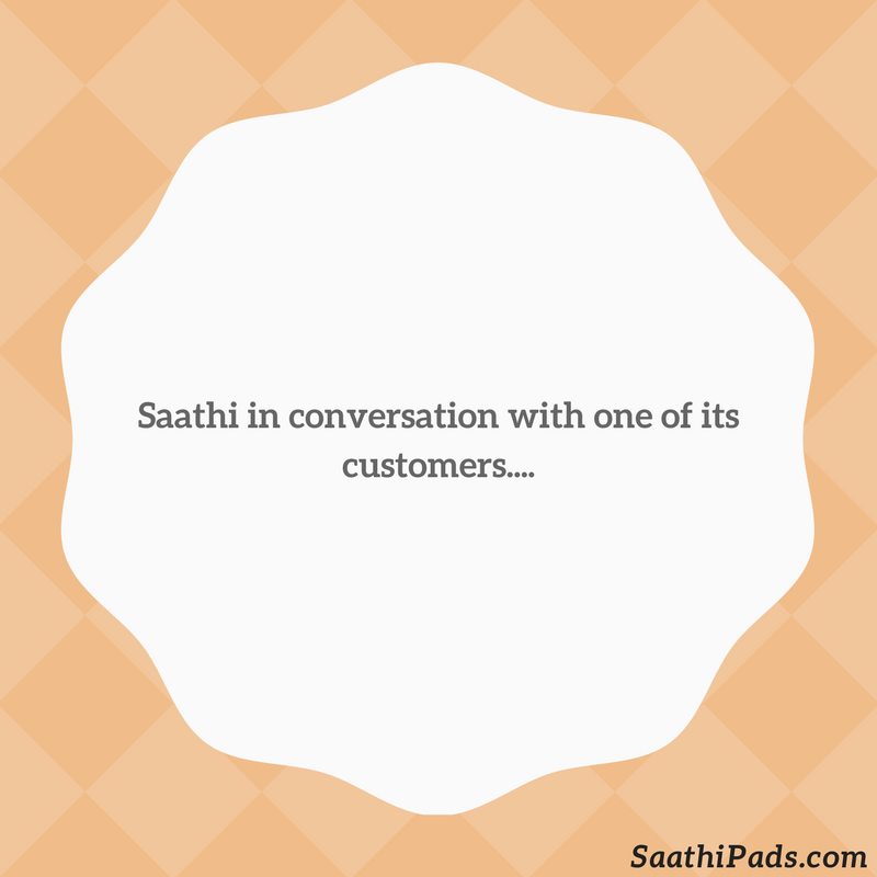 In conversation with you,