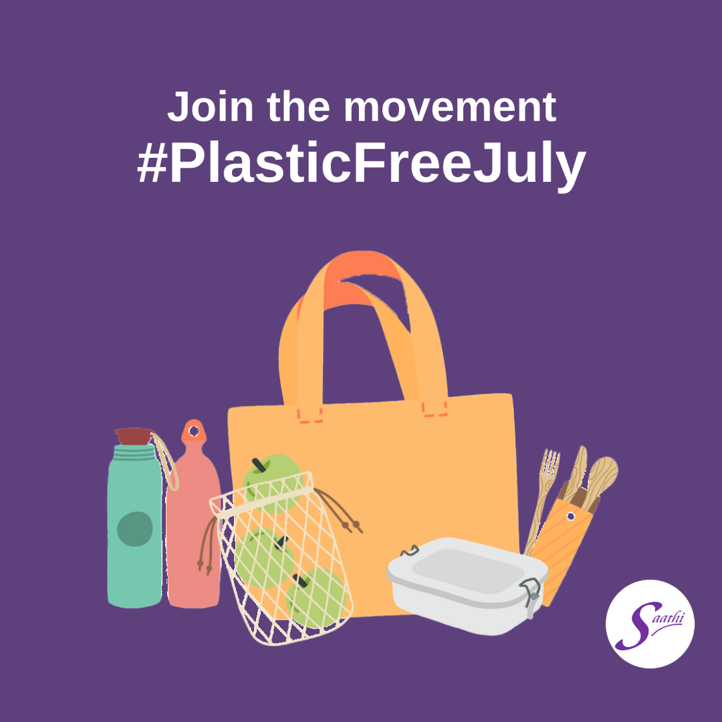 Let's spread the word - Plastic Free July Part 1