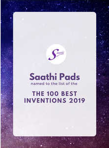 SAATHI NAMED TO TIME's LIST OF THE 100 BEST INVENTIONS OF 2019