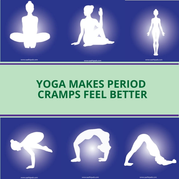 Yoga for your period days. Stay healthy, stay fit!