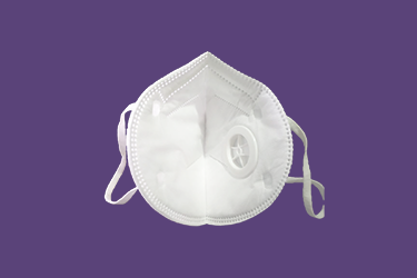 Protective Mask with valve - Pack of 5