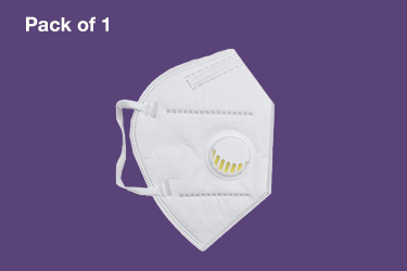 Protective Mask with valve - Pack of 1