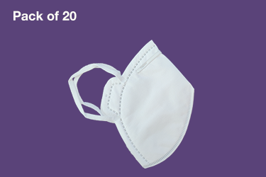 Protective Mask without valve - Pack of 20
