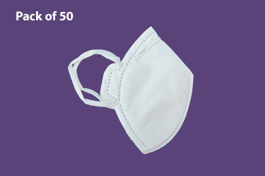 Protective Mask without valve - Pack of 50