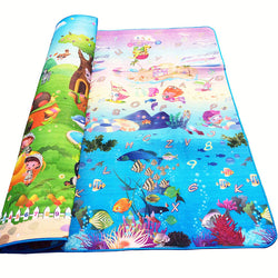 Play mat double Sided for babies, Kids & toddlers