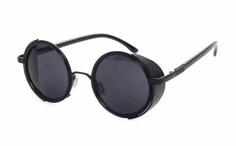 Steampunk Round coated Sunglasses for Women