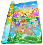 Double Sided educational Baby Play Mat