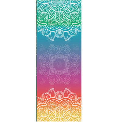 Boho style Mat for Yoga, Sport, Fitness, Gym, Exercise, Pilates, Workout, Training