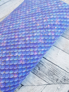 Blue Mermaid Scales - Felt Fabric - Honey Bee Craft Store Ltd