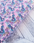 Barbie Seahorse - Felt Backed Fabric - Honey Bee Craft Store -