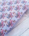 Mermaid Road Trip - Felt Backed Fabric - Honey Bee Craft Store -