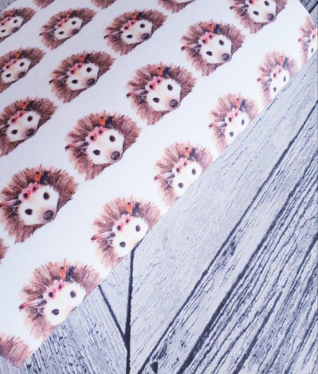 Boho Hedgehog - Felt Fabric - Honey Bee Craft Store Ltd
