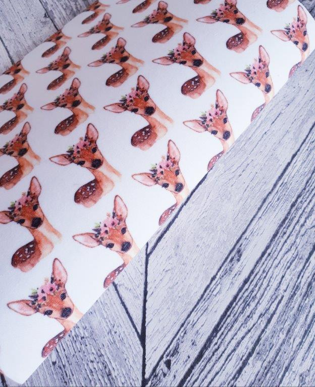 Boho Deer - Felt Fabric - Honey Bee Craft Store Ltd