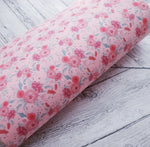 Valentines Blooms - Felt Backed Fabric - Honey Bee Craft Store -