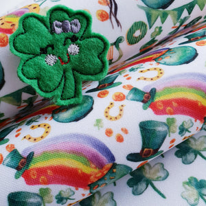 St Patrick's Day- Pots Of Luck - Felt Fabric
