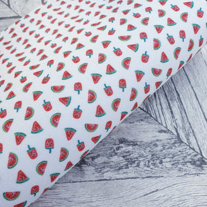 Watermelons and lollies - Felt Fabric