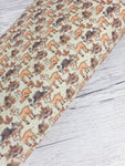 Autumn Deer - Felt Backed Fabric - Honey Bee Craft Store
