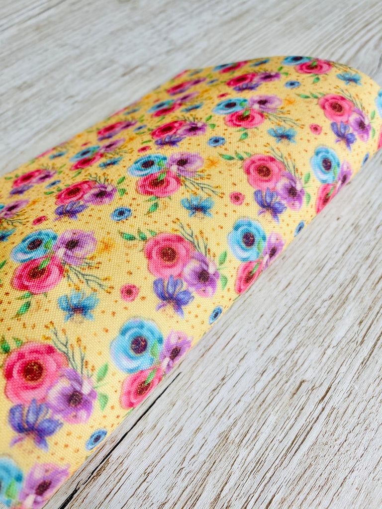 Time to Bloom - Premium Felt Backed Fabric - Honey Bee Craft Store