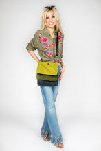 Sonny Triple Nylon Handbag / Jungle Combo