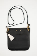 Happy Handbag / Black Pony with Gold Hardware