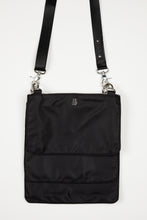 Sonny Triple Nylon Handbag| Black&Silver Combo