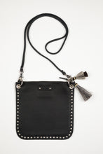 Hippie Handbag / Black Leather