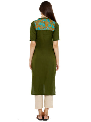 Breya Solid High-Low kurta