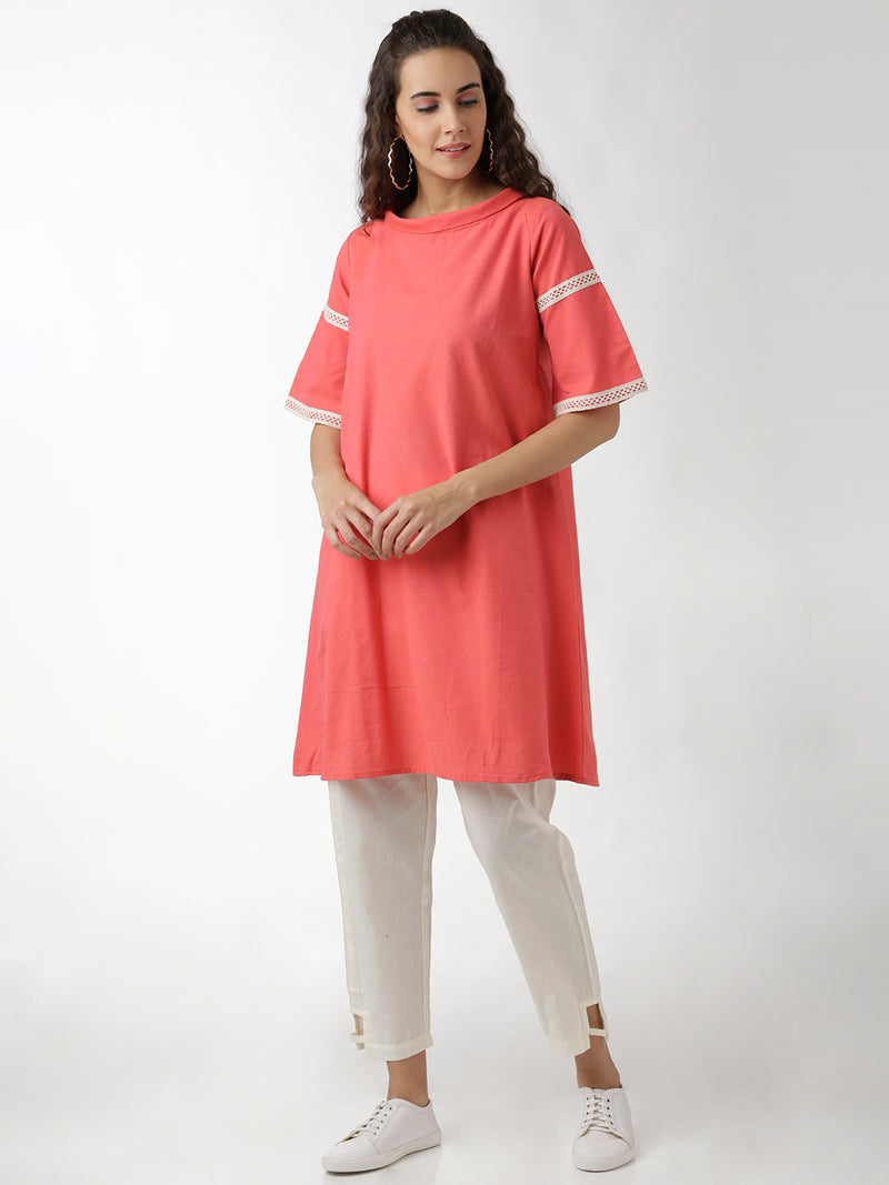 Flared Sleeves A-Line Maxi Dress
