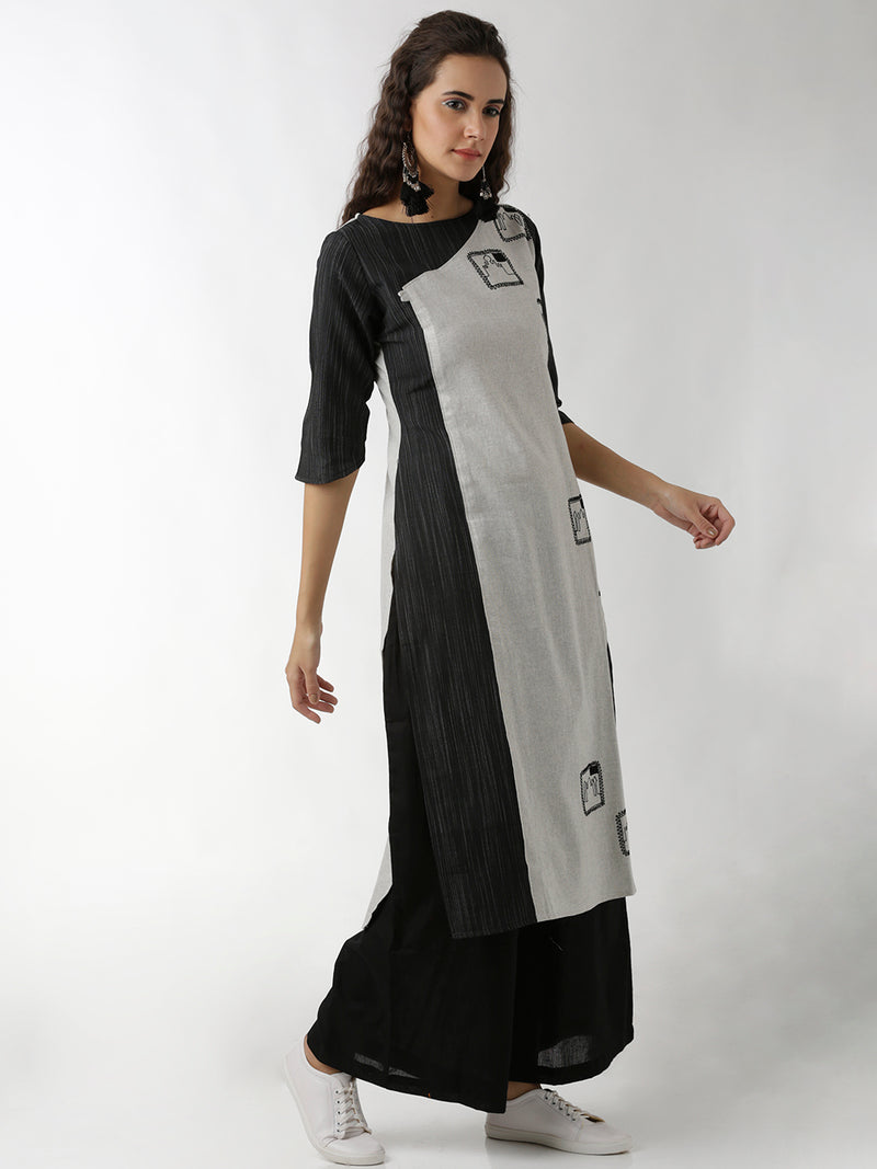 Princess Panel Straight Kurta