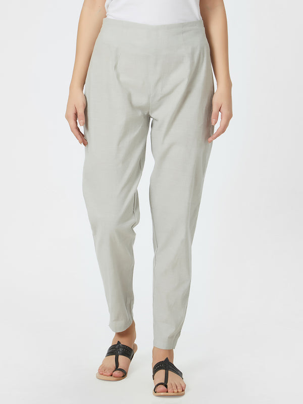 Narrow Light Grey Pants