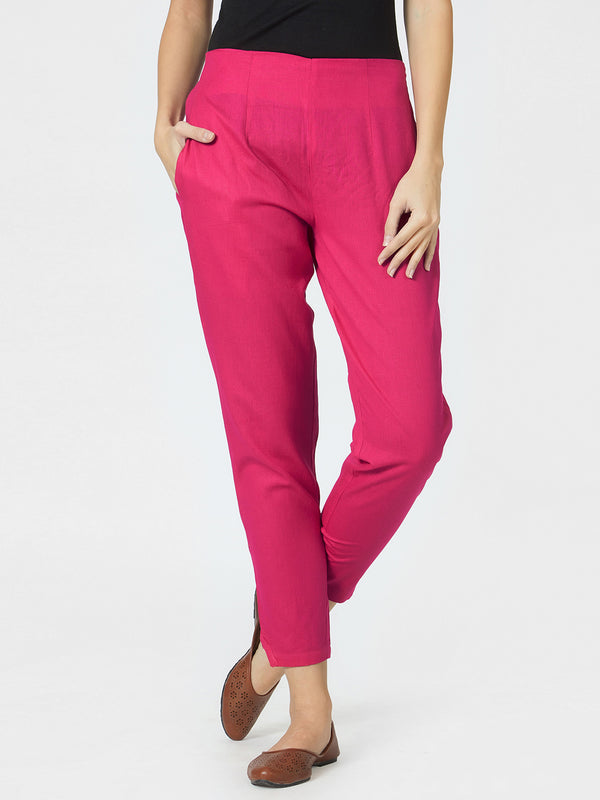 Narrow Pink Pants