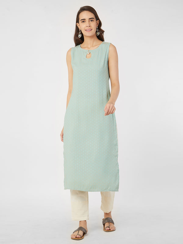 Light Blue Kurta
