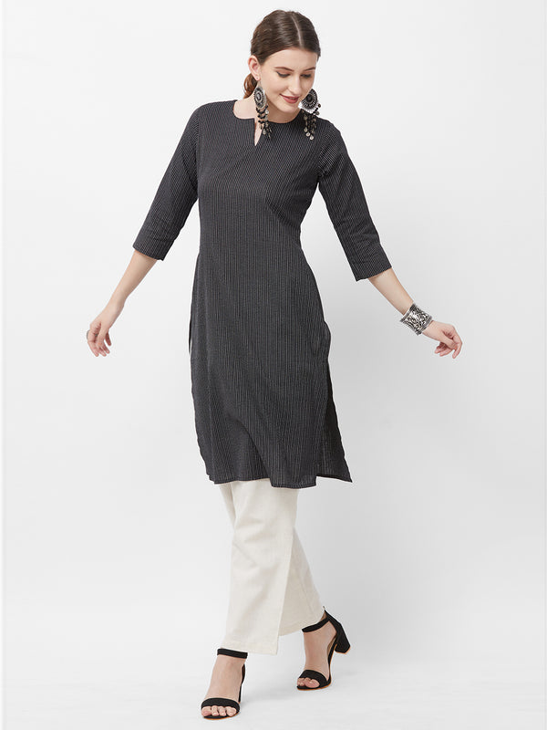 Kantha Embroidered Kurta