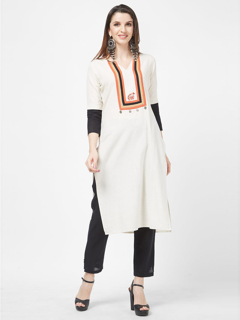 Antique Coin Kurta