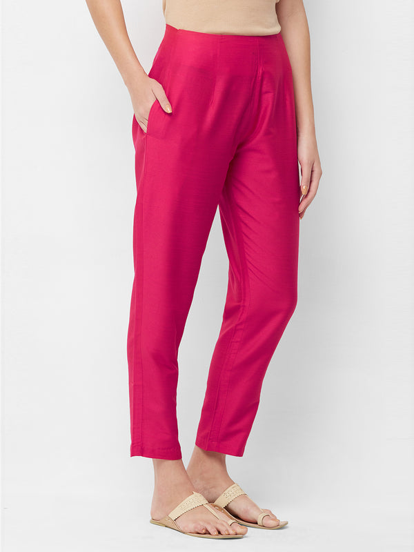 Pink Narrow Pants